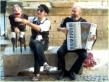 Puppet street performance with Beppe Rizzo in Avignon